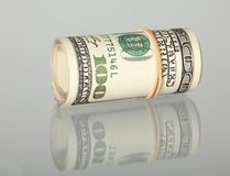Bundle of dollars Stock Images