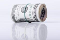 Bundle of dollars banknotes Royalty Free Stock Photos
