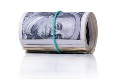 Bundle of dollars banknotes Royalty Free Stock Image