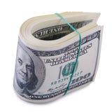 Bundle of dollars banknotes Royalty Free Stock Photo