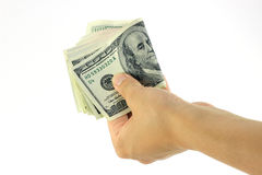 Bundle of dollars Royalty Free Stock Photo