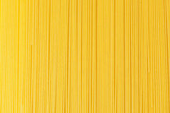 Bundle of dry spaghetti Royalty Free Stock Image