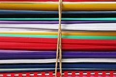 Bundle of folders Stock Image