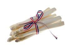 Bundle of fresh asparagus Royalty Free Stock Photography