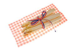 Bundle of fresh asparagus Royalty Free Stock Image