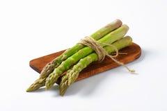 Bundle of fresh asparagus Stock Photo