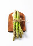 Bundle of fresh asparagus Stock Images
