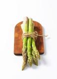 Bundle of fresh asparagus Stock Images