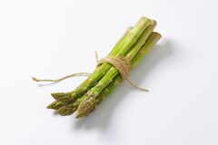 Bundle of fresh asparagus Royalty Free Stock Photo