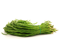 Bundle of fresh long beans Royalty Free Stock Photography