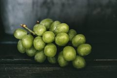 Bundle of Green Grape Royalty Free Stock Images