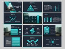 Bundle infographic elements presentation template. business annual report, brochure, leaflet, advertising flyer,. Corporate marketing banner Royalty Free Stock Photo