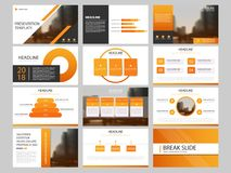 Bundle infographic elements presentation template. business annual report, brochure, leaflet, advertising flyer,. Corporate marketing banner Royalty Free Stock Image