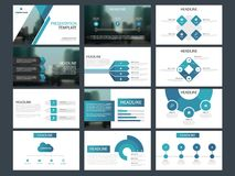 Bundle infographic elements presentation template. business annual report, brochure, leaflet, advertising flyer, Royalty Free Stock Image