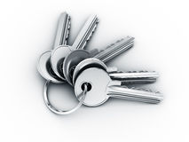 Bundle of keys Royalty Free Stock Image