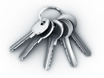 Bundle of keys Royalty Free Stock Photos