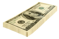 Bundle of money. Royalty Free Stock Photos