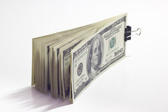 A bundle of money Stock Photography