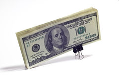 A bundle of money Stock Image