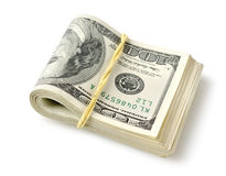 Bundle of money Royalty Free Stock Photography