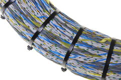 Bundle of network cables Royalty Free Stock Photography