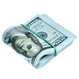 Bundle of new dollars Royalty Free Stock Image