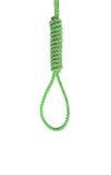 Bundle nylon rope  on white Royalty Free Stock Image