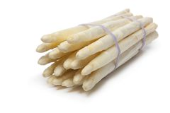 Free Bundle Of White Asparagus Royalty Free Stock Photos - 18837578