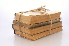 Bundle old books Royalty Free Stock Photography