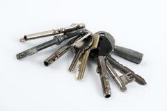 Bundle of old keys Stock Photo