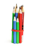 Bundle of Pencils Stock Images