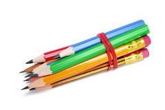 Bundle of Pencils Stock Photography