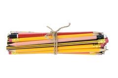 Bundle of Pencils Stock Photography