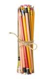 Bundle of Pencils Stock Photo