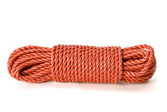Bundle of Red Rope Stock Photo