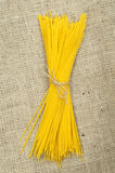 Bundle of spaghetti Stock Image