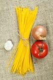 Bundle of spaghetti Royalty Free Stock Photo