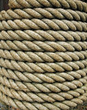Bundle of thick rope Royalty Free Stock Photography