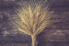 Bundle of wheat Stock Photo