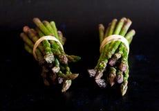 Bundled asparagus Royalty Free Stock Images