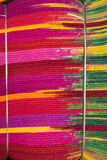 Bundled Textile Fabrics. Stack of bundled textile fabrics, Jodhpur, Rajasthan, India royalty free stock photos