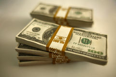 Bundles of cash Royalty Free Stock Images