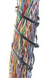 Bundles of colorful network cables Royalty Free Stock Photography