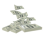 Bundles of Dollars Stock Photos