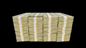 Bundles of money Stock Image