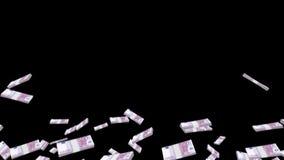 Bundles of money stock video