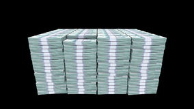 Bundles of money Stock Photos