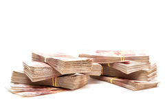 Bundles of Russian money Royalty Free Stock Image