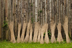 Bundles of Straw Royalty Free Stock Photos