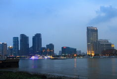 bundnatt shanghai Arkivfoto